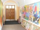 Výstava na dvorku ZUŠ